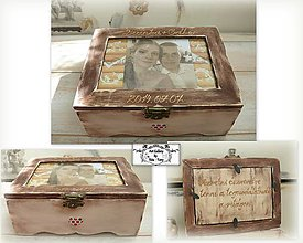 Krabičky - Krabica s fotkou :) - 9868415_
