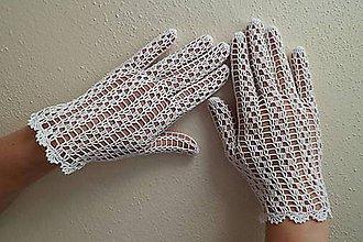 Rukavice - Svadobné rukavičky - 9872877_
