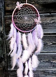 Dekorácie - Lapač snov Motýľ  - 9872909_