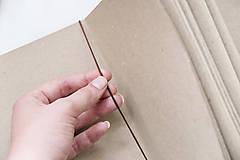 Papiernictvo - Zápisník s motívom - líška - 9873075_