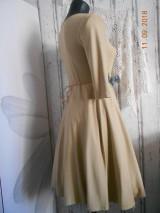 """Šaty - """"Maky a lúčne kvetinkovo"""" - šaty z bambusu, ručne maľované - 9873410_"""