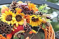 Dekorácie - Jesenný veniec - 9872201_