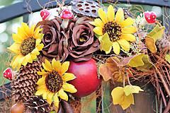 Dekorácie - Jesenný veniec - 9872791_