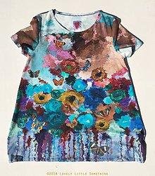 Tuniky - Akvarel & motýle - 9872073_