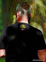 Tričká - Pánske tričko, maľované STROM ♂ - 9873374_