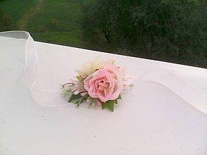 """Náramky - Kvetinový náramok """"... jemná krása..."""" - 9872980_"""