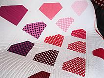 Textil - Detská moderná deka Môj diamant - 9871175_