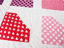 Textil - Detská moderná deka Môj diamant - 9871182_