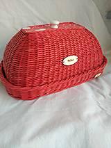 Nádoby - Cerveny chlebnik - 9871214_