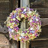 - Prírodný veniec na dvere - 9871811_