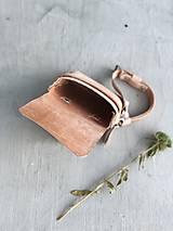 Kabelky - Kožená crossbody taška, ľadvinka CUBE - 9872217_
