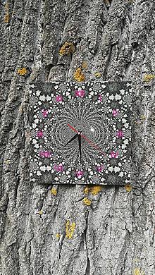 Hodiny - Štvorcové nástenné hodiny_211 - 9871345_