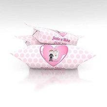 Darčeky pre svadobčanov - Svadobné krovky, vzor KRS02 - 9873922_