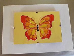 Obrázky - Motýľ maľovaný na skle - 9872010_