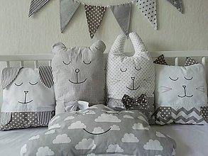Textil - MANTINEL DO POSTIEĽKY-SIVÝ - 9872680_
