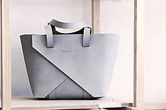 Kabelky - Shopper Origami Stone - 9873636_