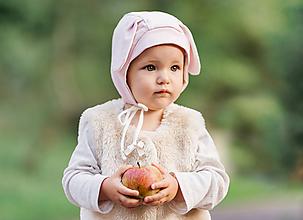 Detské čiapky - Čepček ovečka -Obojstranný - 9872084_