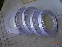 Galantéria - Biela saténová stuha 10 mm - 9871899_