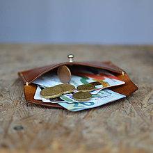 Peňaženky - Minipeněženka (Modrá) - 9872502_