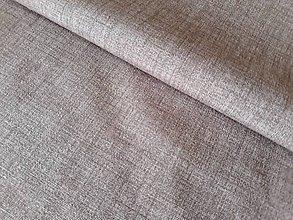 Textil - Béžovo biely melír - poťahová látka - 9872486_