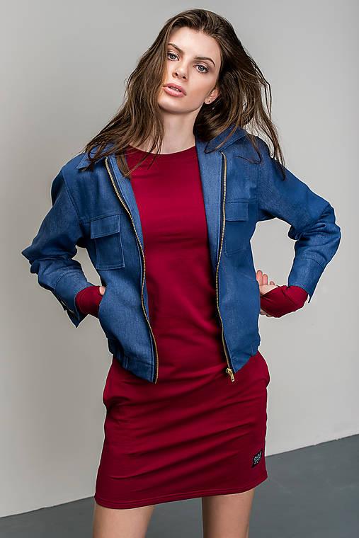 Riflová bunda Dusk (S)   Divarush - SAShE.sk - Handmade Kabáty cbfc0c0a22