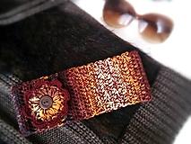 Ozdoby do vlasov - Čelenka vo farbách jesene - VÝPREDAJ - 9876010_