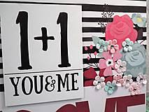 Papiernictvo - You&me zápisník-svadobný plánovač - 9875352_