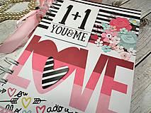 Papiernictvo - You&me zápisník-svadobný plánovač - 9875355_