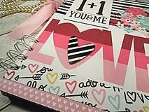Papiernictvo - You&me zápisník-svadobný plánovač - 9875366_