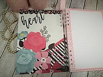 Papiernictvo - You&me zápisník-svadobný plánovač - 9875369_