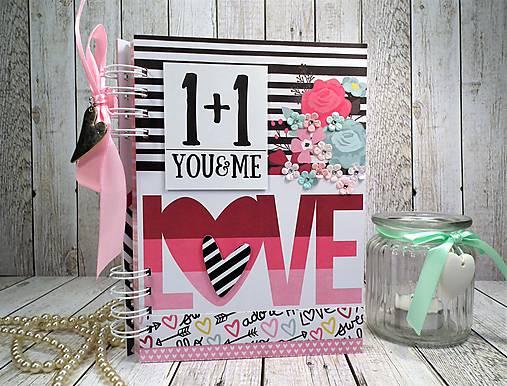 You&me zápisník-svadobný plánovač