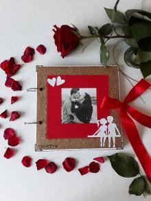 Papiernictvo - Zamilovaný fotoalbum - 9874379_