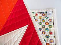 Textil - Detská moderná deka Veľká hviezda 2 - 9875892_