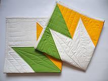 Textil - Sada pre dvojčatá dve deky Veľká hviezda 1 a 2 - 9875917_