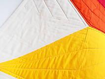 Textil - Sada pre dvojčatá dve deky Veľká hviezda 1 a 2 - 9875920_