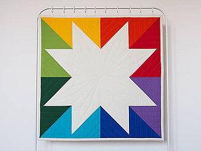 Textil - Detská moderná deka Veľká hviezda 2 - 9875890_