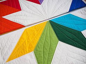 Textil - Sada pre dvojčatá dve deky Veľká hviezda 1 a 2 - 9875911_