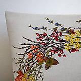 Úžitkový textil - Jesenný veniec - 9874340_