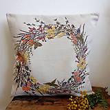 Úžitkový textil - Jesenný veniec - 9874363_