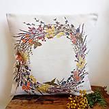 Úžitkový textil - Jesenný veniec - 9874364_