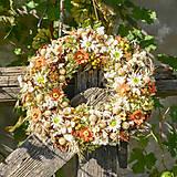 Dekorácie - Prírodný venček na dvere - 9874509_