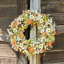 Dekorácie - Prírodný venček na dvere - 9874541_