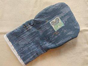 Úžitkový textil - Chňapka s teplovzdorným úchopom a magnetom - 9875119_