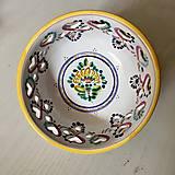Dekorácie - Miska na stůl | zeď 14 barevně malovaná - 9875666_