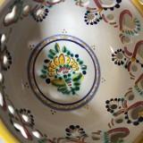 Dekorácie - Miska na stůl | zeď 14 barevně malovaná - 9875668_