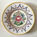 Dekorácie - Talíř na zeď 20 cm - 9875694_