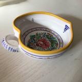 Dekorácie - Miska | srdce na stůl 14 barevně malovaná - 9875707_
