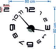 Hodiny - 2D nástenné hodiny-LAZARE s08s - 9875152_
