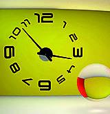 Hodiny - 2D nástenné hodiny-LAZARE s08s - 9875170_