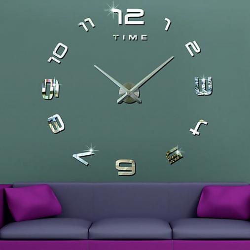 2D nástenné hodiny-LAZARE s08s